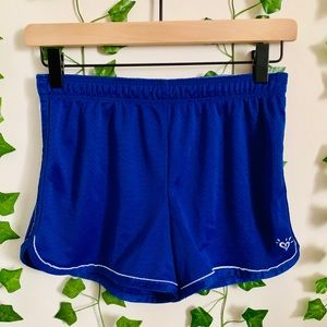 2014 Justice royal blue active shorts